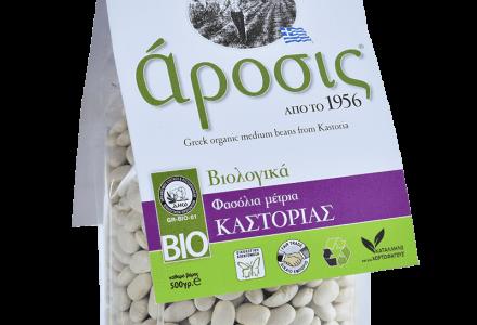 Βιολογικά Φασόλια μέτρια Καστοριάς - Βιολογικά Όσπρια